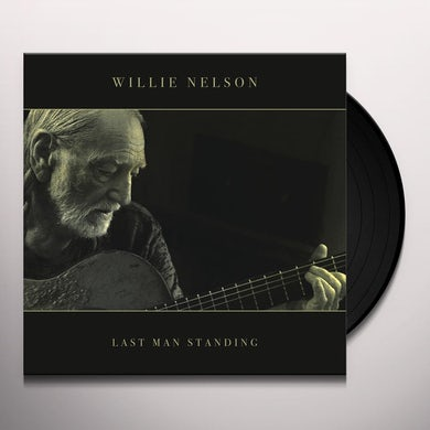 Willie Nelson LAST MAN STANDING Vinyl Record