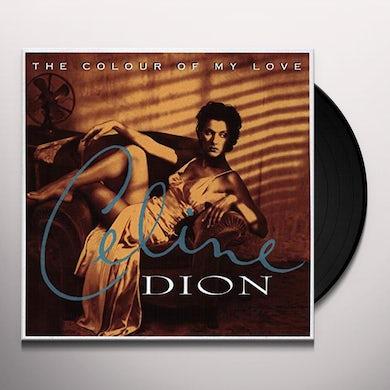 Celine Dion COLOUR OF MY LOVE Vinyl Record