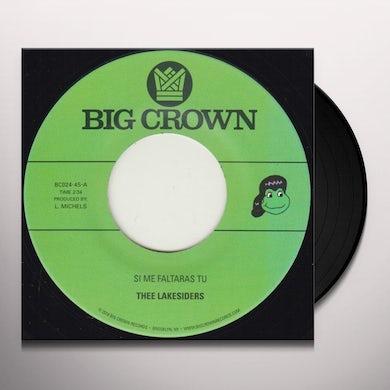Thee Lakesiders SI ME FALTARAS TU / PARACHUTE Vinyl Record