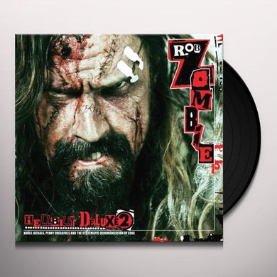 Rob Zombie VOL. 2-HELLBILLY DELUXE Vinyl Record - Portugal Release