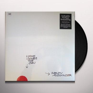 Monty Alexander HERE COMES THE SUN Vinyl Record