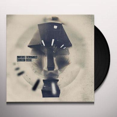 Shlomi Aber LINEAR EQUATION Vinyl Record