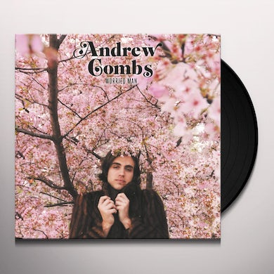 Andrew Combs WORRIED MAN Vinyl Record