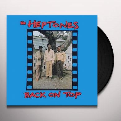 Heptones BACK ON TOP Vinyl Record