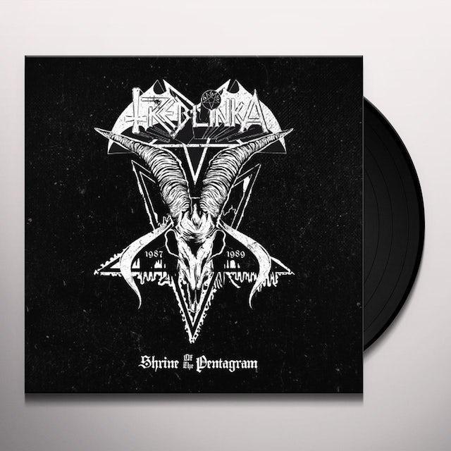 Treblinka SHRINE OF THE PENTAGRAM Vinyl Record