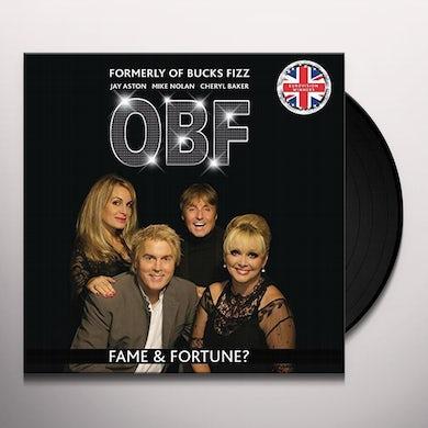 FORMERLY OF BUCKS FIZZ FAME & FORTUNE? Vinyl Record