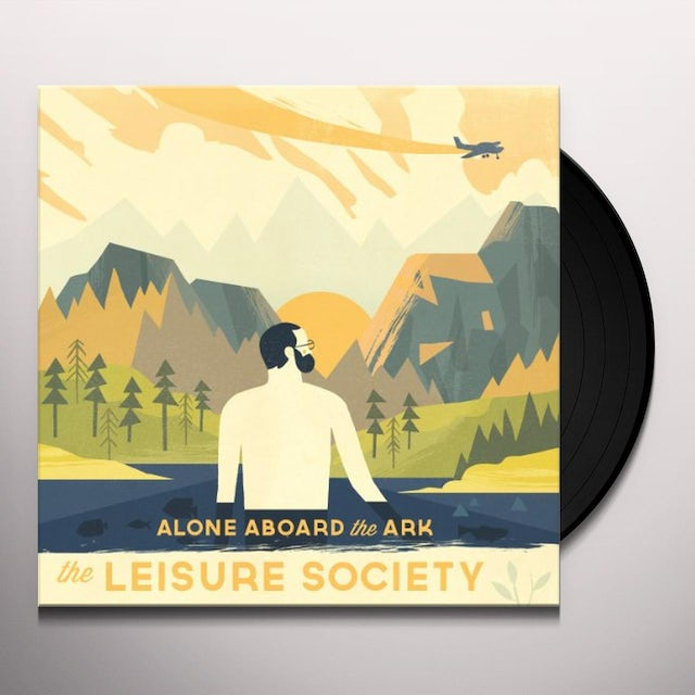 The Leisure Society ALONE ABOARD THE ARK Vinyl Record