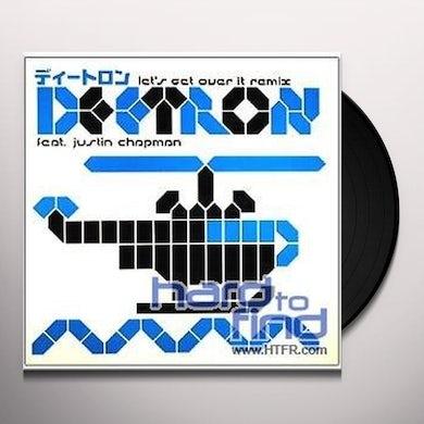 Deetron LETS GET OVER IT REMIX Vinyl Record