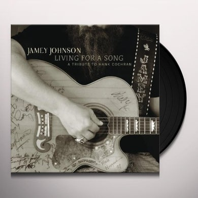 Jamey Johnson LIVING FOR A SONG: TRIBUTE TO HANK COCHRAN Vinyl Record