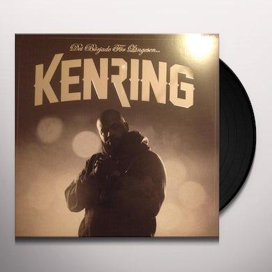 Ken Ring DET BORJADE FOR LANGE Vinyl Record - Holland Release