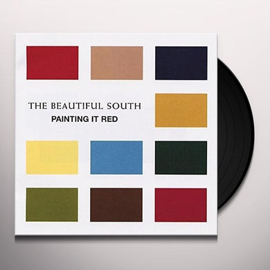 Beautiful South PAINTING IT RED Vinyl Record