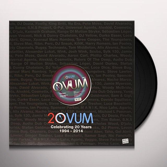 Steve Parker SUGAR HIGH EP Vinyl Record