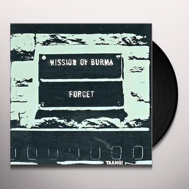 Mission Of Burma FORGET Vinyl Record