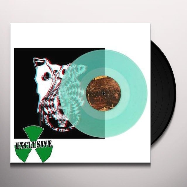 Orchid SIGN OF THE WITCH (BLUE COLOR) Vinyl Record