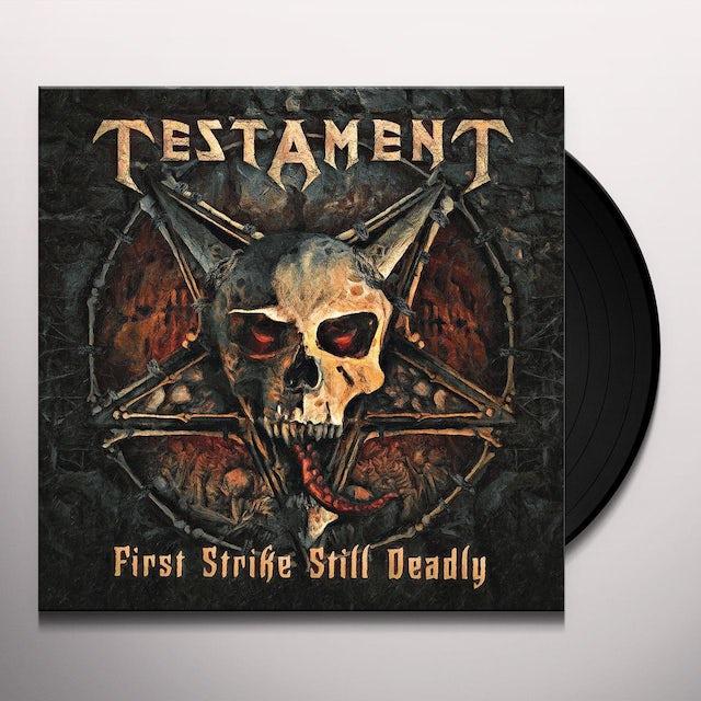 Testament FIRST STRIKE STILL DEADLY Vinyl Record