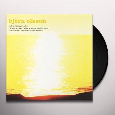 INSTRUMENTALMUSIK - ATT SJUNKA IN I... ELLER KANSKE FÖRSVINNA TILL (TO SUBMERGE IN .. Vinyl Record