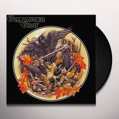 Gunpowder Gray Vinyl Record