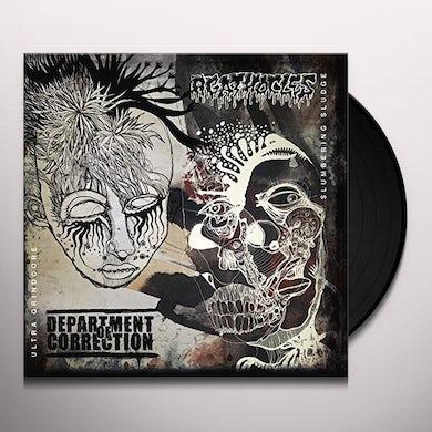 DEPARTMENT OF CORRECTION SPLIT Vinyl Record