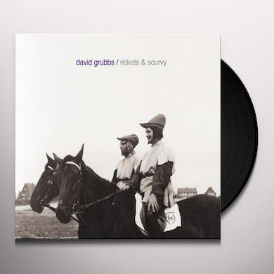 David Grubbs RICKETS & SCURVY Vinyl Record