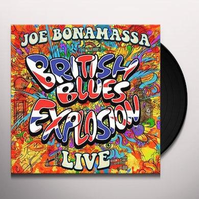 Joe Bonamassa BRITISH BLUES EXPLOSION LIVE Vinyl Record