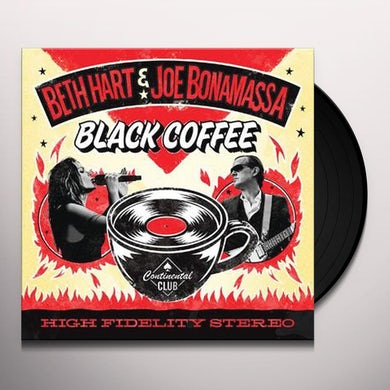 Beth Hart BLACK COFFEE - Gatefold, Colored Double Vinyl Record