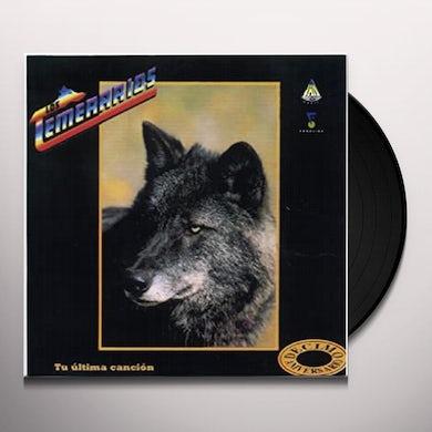 temerarios TU ULTIMA CANCION Vinyl Record