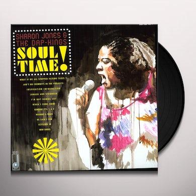 Sharon Jones & The Dap-Kings SOUL TIME Vinyl Record