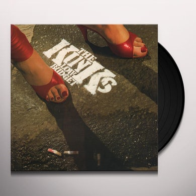 The Kinks Low Budget (180 Gram Red Audiophile Viny Vinyl Record