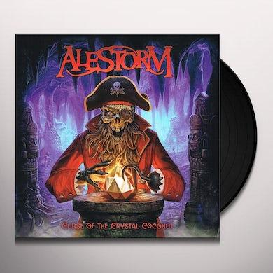 Alestorm CURSE OF THE CRYSTAL COCONUT Vinyl Record