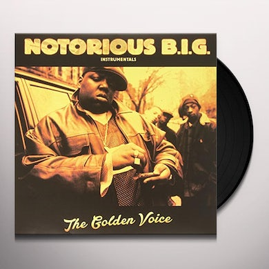 The Notorious B.I.G. INSTRUMENTALS THE GOLDEN VOICE Vinyl Record