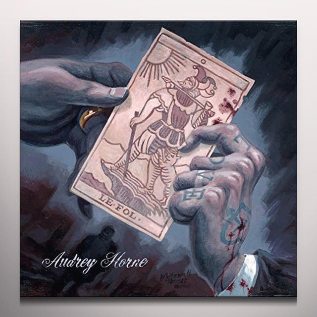Audrey Horne LE FOL (TRANSPARENT BLUE VINYL) Vinyl Record