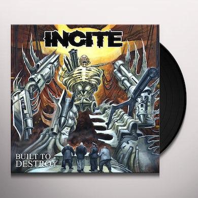 BUILT TO DESTROY Vinyl Record