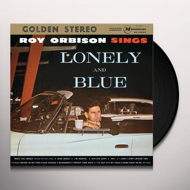 Roy Orbison SINGS LONELY & BLUE Vinyl Record
