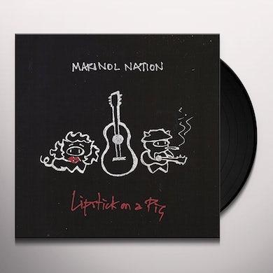 MARINOL NATION LIPSTICK ON A PIG Vinyl Record