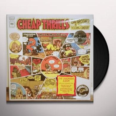 Janis Joplin Cheap Thrills Vinyl Record