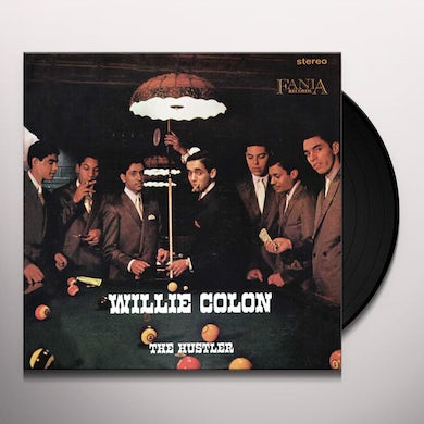 Willie Colon HUSTLER Vinyl Record