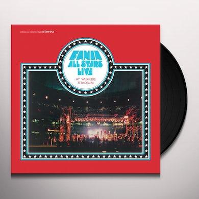 Fania All Stars LIVE AT YANKEE STADIUM Vinyl Record