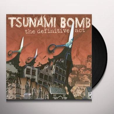 Tsunami Bomb THE DEFINITIVE ACT Vinyl Record