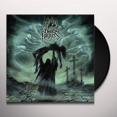 DARK FORTRESS PROFANE GENOCIDAL CREATIONS Vinyl Record