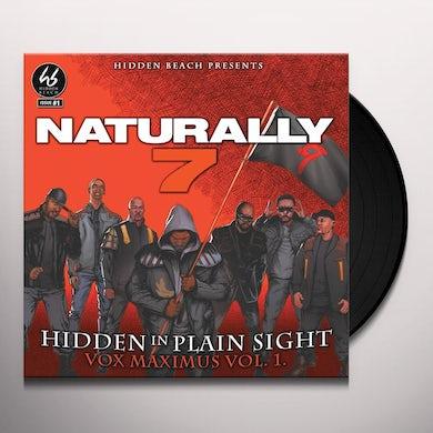 Naturally 7 HIDDEN IN PLAIN SIGHT Vinyl Record