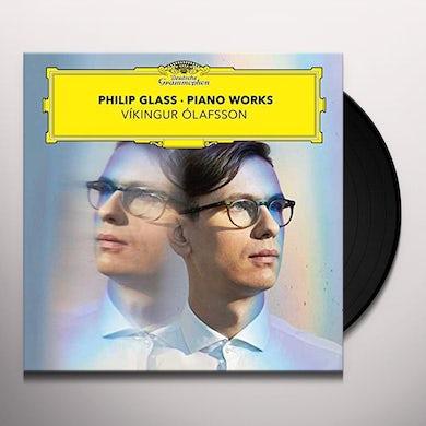 Vikingur Olafsson PHILIP GLASS: PIANO WORKS Vinyl Record
