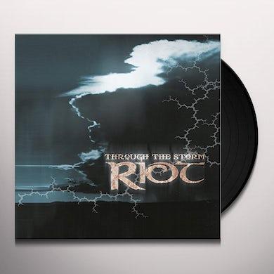 Riot THROUGH THE STORM Vinyl Record