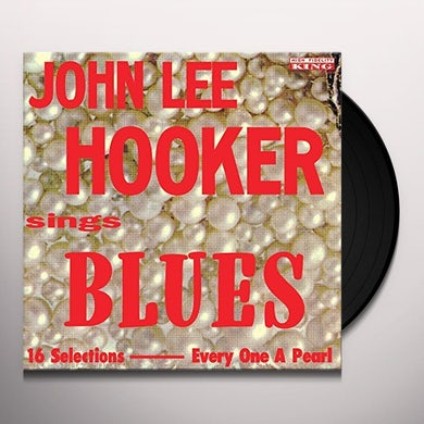 John Lee Hooker SINGS BLUES Vinyl Record
