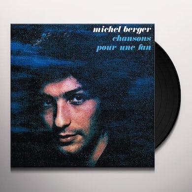 Michel Berger CHANSONS POUR UNE FAN Vinyl Record
