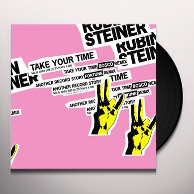 Rubin Steiner TAKE YOUR TIME EP Vinyl Record