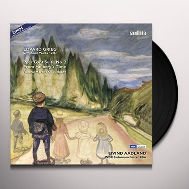 GRIEG / AADLAND / WDR SYM ORCH COLOGNE SYMPHONIC WORKS 2 Vinyl Record