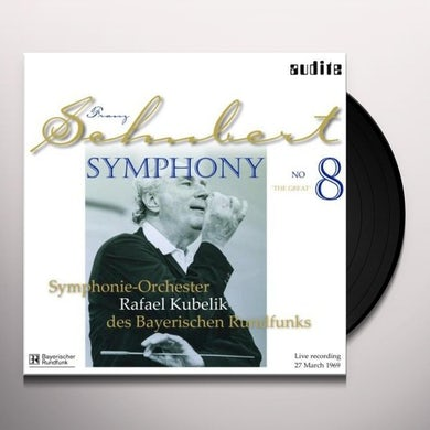 SCHUBERT SYM 8 D. 944 THE GREAT Vinyl Record