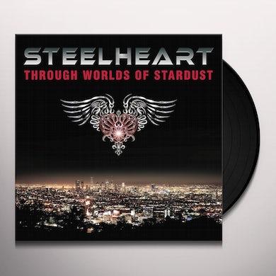 Steelheart THROUGH WORLDS OF STARDUST Vinyl Record