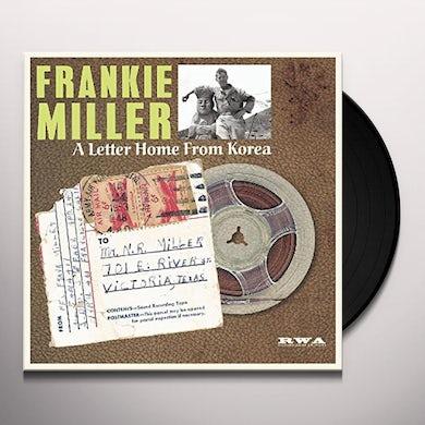 Frankie Miller LETTER HOME FROM KOREA Vinyl Record