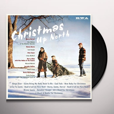CHRISTMAS UP NORTH / VARIOUS Vinyl Record